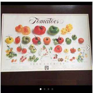 トマトいっぱいポスター(ポスターフレーム )