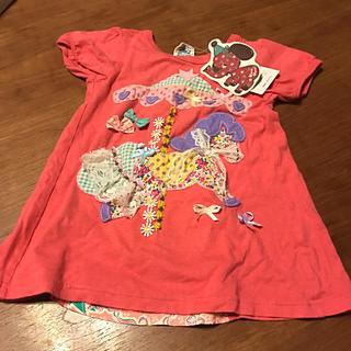 vanavanaのTシャツ 110センチ