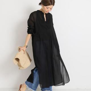 新品◆ブラック◆Deuxieme Classe◆MAREDILATEシャツドレス
