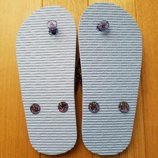 ビーチサンダル キッズ レディースの靴/シューズ(ビーチサンダル)の商品写真