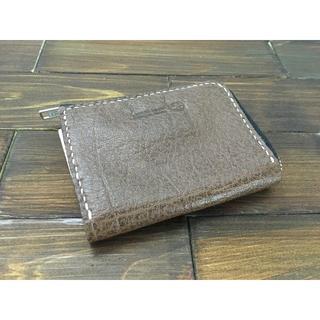 手のひらサイズ!ミニL字ファスナー財布【バッファロー】(財布)