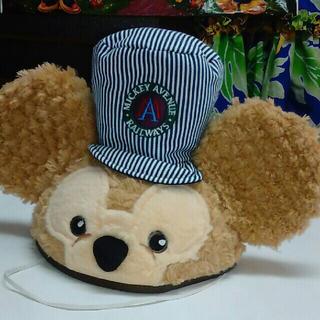 ディズニー(Disney)の上海ディズニー ダッフィー 帽子   レールウェイダッフィー 香港ディズニー(ハット)
