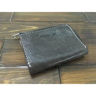 手のひらサイズ!ミニL字ファスナー財布【ゴートレザー】(財布)