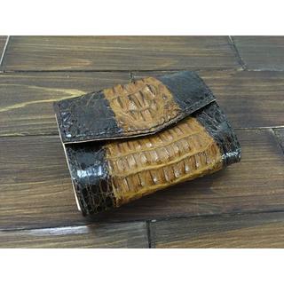 お札を折らない極小ミニミニ財布【カイマン】(財布)