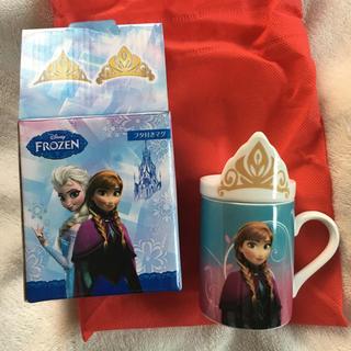 アナトユキノジョオウ(アナと雪の女王)のアナと雪の女王 FROZEN マグカップ 新品(グラス/カップ)