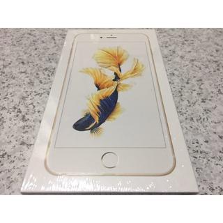 アップル(Apple)の新品 SIMロック解除済 iPhone 6S Plus 128GB Gold(スマートフォン本体)