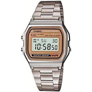 カシオ(CASIO)のCASIO スタンダード 海外版 生活防水 保証付 A-158WEA-9JF(腕時計(デジタル))
