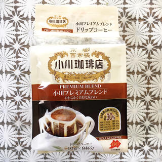 オガワコーヒー(小川珈琲)のminchun様専用☆ 小川珈琲 プレミアムブレンド 8杯分(コーヒー)