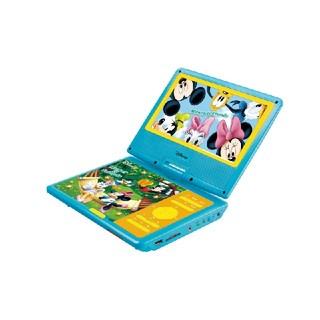 ディズニー(Disney)の新品!9インチポータブルDVDプレーヤー(ミッキー&フレンズ)  (DVDプレーヤー)