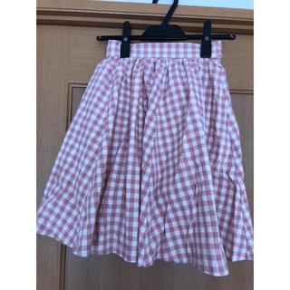 アドリー(ADREE)のADREE チェック柄スカート(ひざ丈スカート)