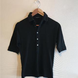 アイファニー(EYEFUNNY)のEYEFUNNY ポロシャツ ブラック(ポロシャツ)
