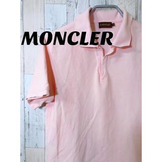 モンクレール(MONCLER)のMONCLER ポロシャツ  モンクレール ピンク(ポロシャツ)