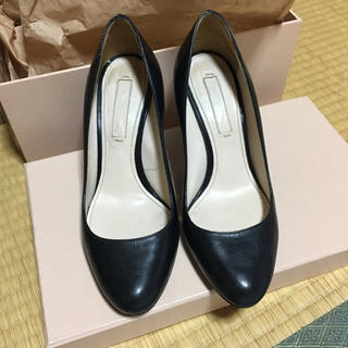 プラダ(PRADA)のChiaki 様専用  プラダ 黒革靴 (ローファー/革靴)