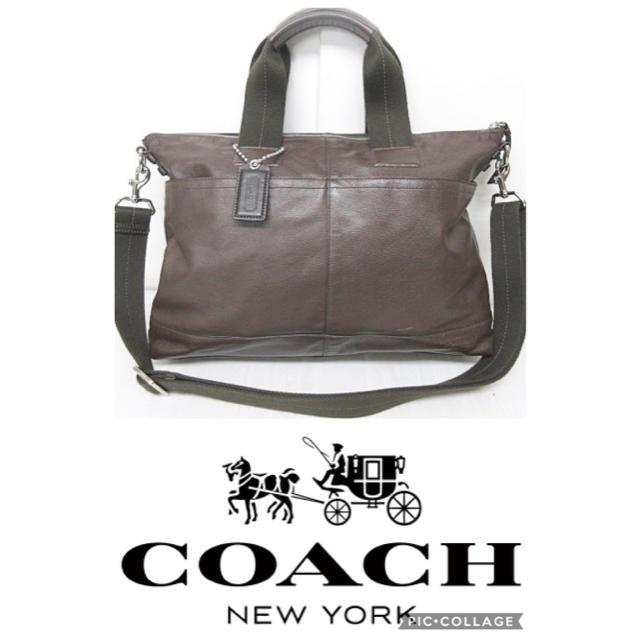 11adf5936a9d COACH(コーチ)のコーチ COACH アーバンコミューター トンプソン レザー ブリーフケース メンズのバッグ