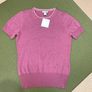コストコ(コストコ)のTシャツ ニット コストコ ピンク 新品(Tシャツ/カットソー(半袖/袖なし))