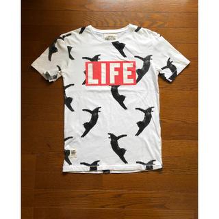 ウォーンバイ(Worn By)のWorn By  LIFE FLYING KITTY  Tシャツ(Tシャツ/カットソー(半袖/袖なし))