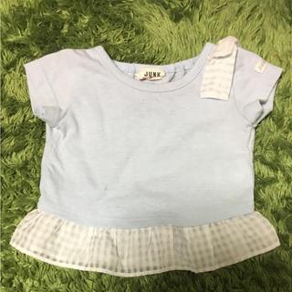 ブリーズ(BREEZE)の肩リボン Tシャツ 80センチ 小さめ(Tシャツ)
