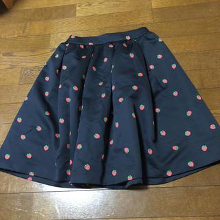 フランシュリッペ(franche lippee)のオリプリスカート(ひざ丈スカート)
