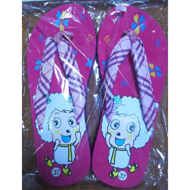 ビーチサンダル 24cm★新品【ピンク】 レディースの靴/シューズ(ビーチサンダル)の商品写真
