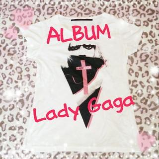 アルブム(ALBUM)のALBUM♡レディーガガコラボTシャツ(Tシャツ(半袖/袖なし))