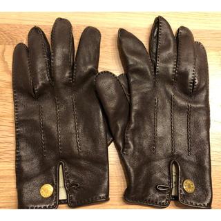 エルメス(Hermes)のpackt様専用 エルメス 手袋 ダークブラウン(手袋)