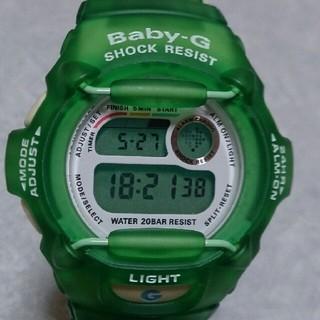 ベビージー(Baby-G)のBaby-G 370 カスタム染色グリーン(腕時計)