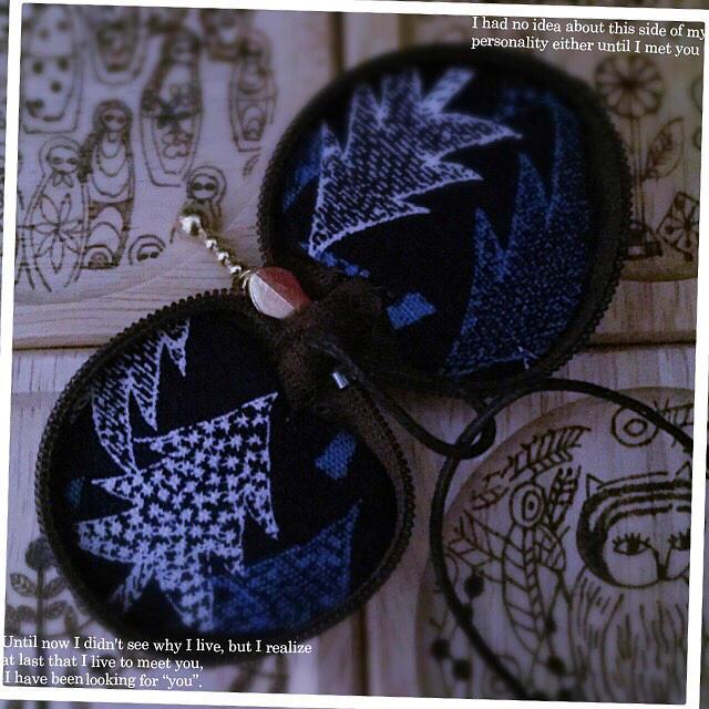 mina perhonen(ミナペルホネン)のminäperhonenʚϊɞプチな♥macaronpouch ミナ ペルホネン ハンドメイドのファッション小物(その他)の商品写真