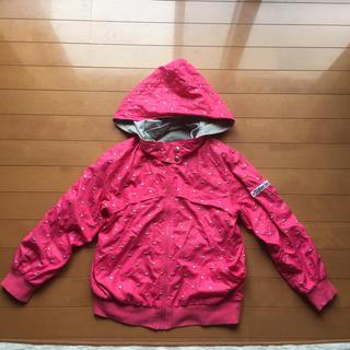 ジェニィ(JENNI)のキッズ 女の子 jenny パーカー 140 リバーシブル 美品(ジャケット/上着)