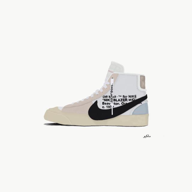 Off White X Nike Blazer Miイラストの通販 By Player08s Shopラクマ