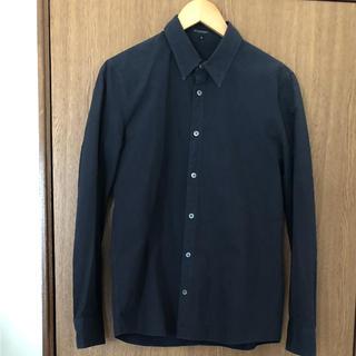 アタッチメント(ATTACHIMENT)のATTACHMENT コットンシャツ/黒/3(シャツ)
