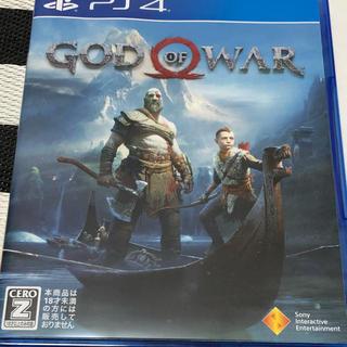 プレイステーション4(PlayStation4)の【美品】PS4 ゴッド・オブ・ウォー dlcコード未使用 god of war4(家庭用ゲームソフト)