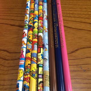 セサミストリート(SESAME STREET)のセサミストリート鉛筆&色鉛筆(鉛筆)