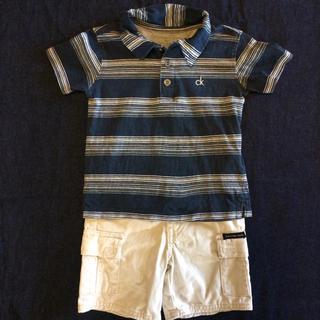 シーケーカルバンクライン(ck Calvin Klein)のカルバンクライン 90サイズ 上下セット👦(Tシャツ/カットソー)