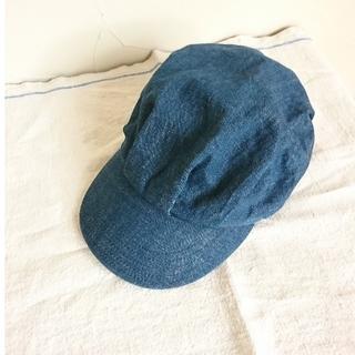 ブルーブルー(BLUE BLUE)のブルーブルー BLUE BLUE デニムキャスケット(キャスケット)