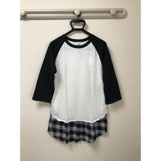 アンシーキー(UNSEAKY)の新品 unseaky アンシーキー ラグラン七分袖カットソー サイズ3(Tシャツ(長袖/七分))