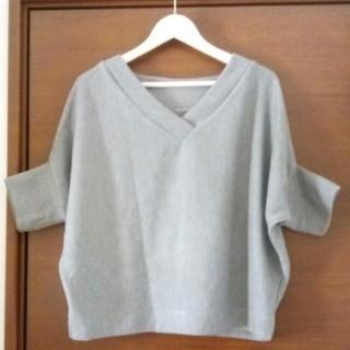 ジーユー(GU)のドルマンT(五分袖 )(Tシャツ(長袖/七分))