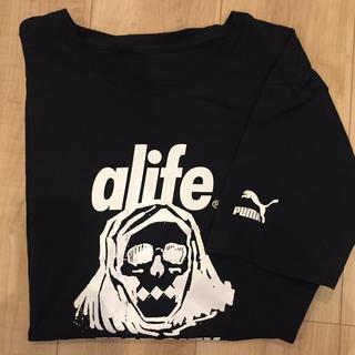 エーライフ(ALIFE)のalife×puma Tシャツ(Tシャツ/カットソー(半袖/袖なし))