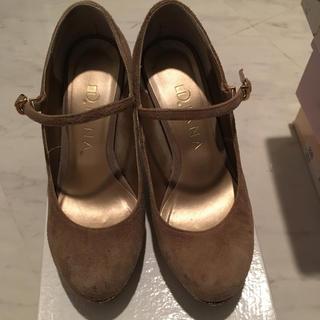 ダイアナ(DIANA)のお値下げ ダイアナ グリッター 靴 21、5センチ(ハイヒール/パンプス)