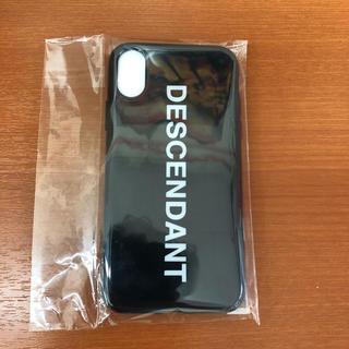 DESCENDANT iPhone case X 対応 アイフォン ケース 新品