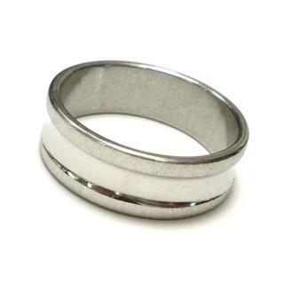 ☆新品☆22号ステンレスリング 指輪 シンプル 12番(リング(指輪))