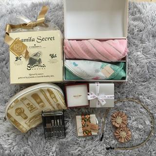 ガミラシークレット(Gamila secret)の化粧品 雑貨いろいろセット ガミラシークレット他(洗顔料)