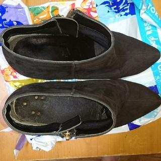 エスペランサ(ESPERANZA)のMomo様専用 ESPERANZA ブラックショートブーツ(ブーティ)