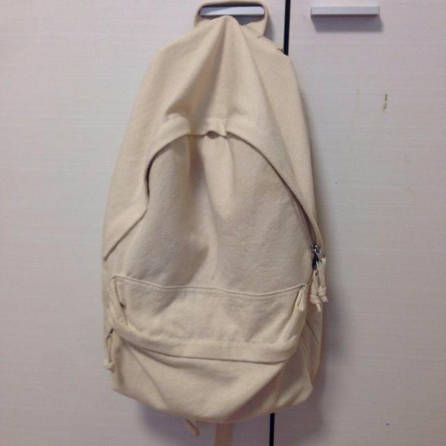 MUJI (無印良品)(ムジルシリョウヒン)の無印良品 リュック レディースのバッグ(リュック/バックパック)の商品写真