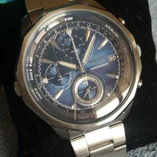 ワイアード(WIRED)の☆WIREDワイアード‼️クロノグラフ腕時計‼️電池交換済み‼️(腕時計(アナログ))