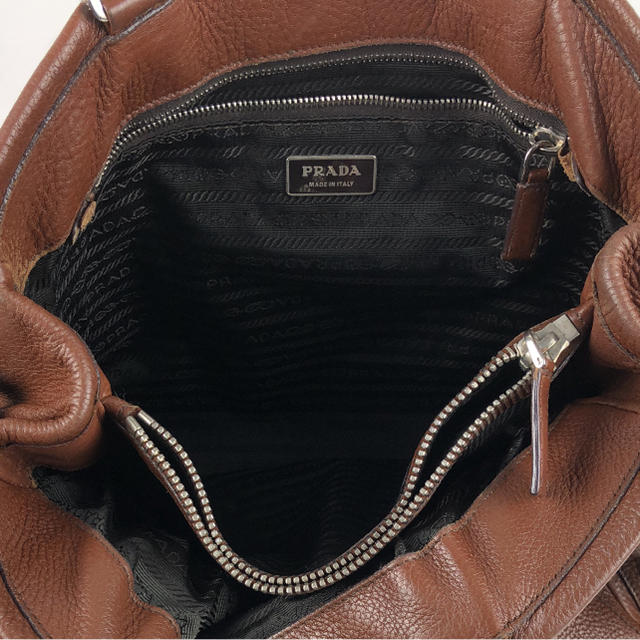 199df62df9ce PRADA - 確実正規品PRADAレザートートバッグの通販 by 27 プラダならラクマ