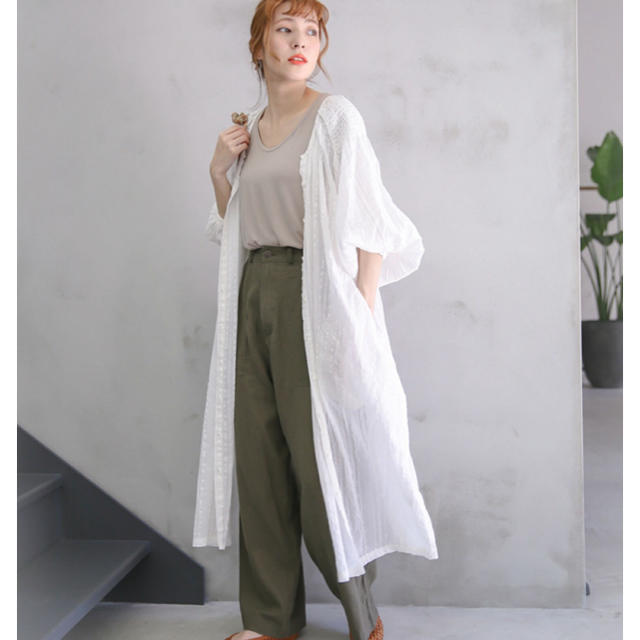 SELECT(セレクト)のselect MOCA カーディガン ホワイト ラメ レディースのトップス(カーディガン)の商品写真