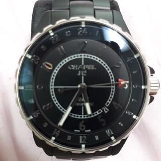 シャネル(CHANEL)の美品 J12 GMT H3101 41mm(腕時計(アナログ))
