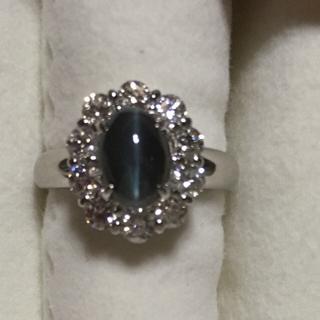アレキサンドライトダイヤモンドリング(リング(指輪))