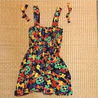 イヴサンローランボーテ(Yves Saint Laurent Beaute)のワンピース イブサンローラン 中古 綿100パーセント(ワンピース)