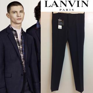 ランバン(LANVIN)のLANVIN PARIS ITALY製 D8 SLIMFIT TROUSER(スラックス/スーツパンツ)